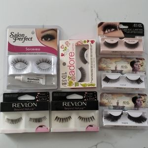 Lot of NBU dramatic/costume strip lashes